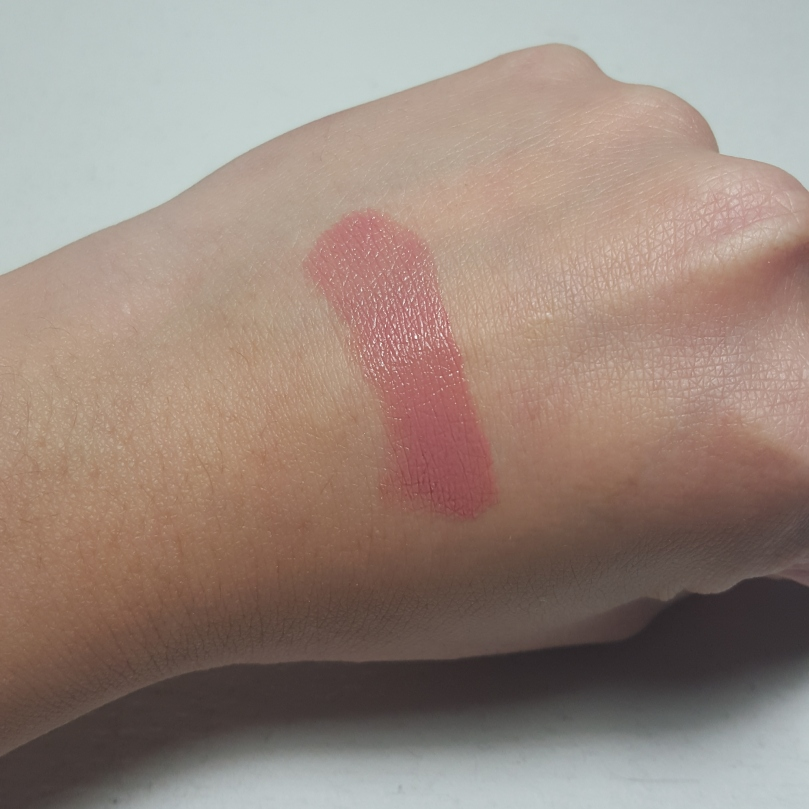 Laura Mercier Lip Parfait Creamy Colourbalm in Amaretto Swirl Swatch